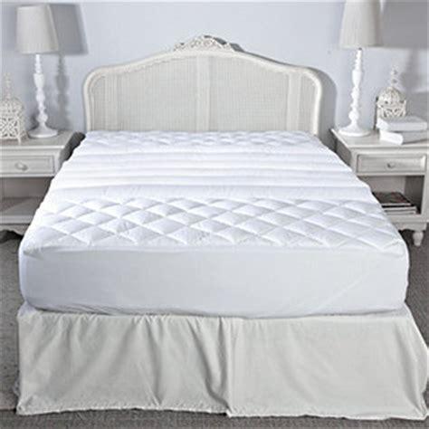 mayfair manor lumbar support mattress pad qvcuk