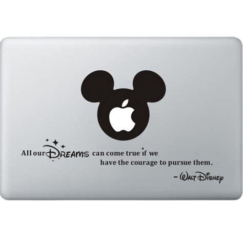 Macbook Aufkleber Disney by All Your Dreams Walt Disney Macbook Sticker Mcstickers