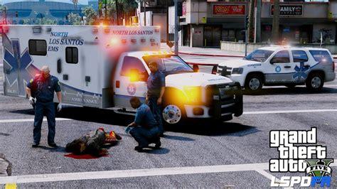 santos ford gta 5 lspdfr ems mod 12 as a paramedic