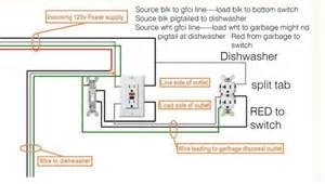 Wiring Diagram Disposal Wiring A Gfci To Switch Garbage Disposal And Dishwasher