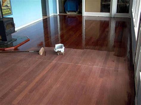 How to Sand, Stain, And Refinish Hardwood   Vacuum Companion