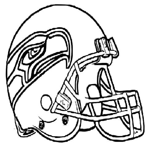 coloring pages nfl football helmets pin nfl football helmet coloring pages on pinterest