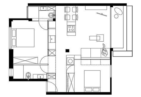 space saving floor plans custom space saving partitions transform tiny apartment