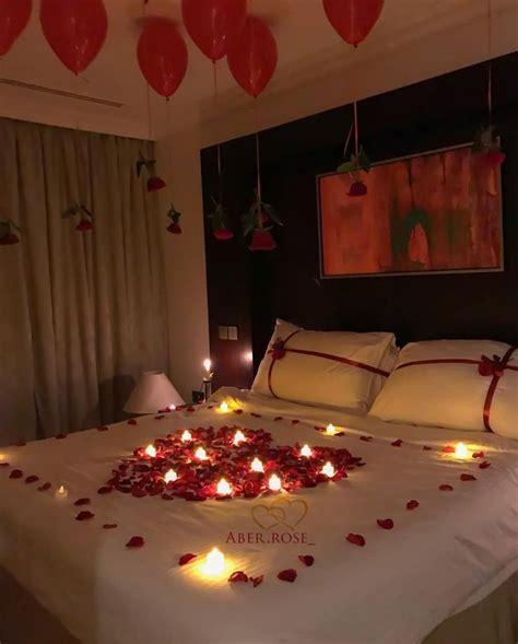 decorate bedroom  romantic night fun home