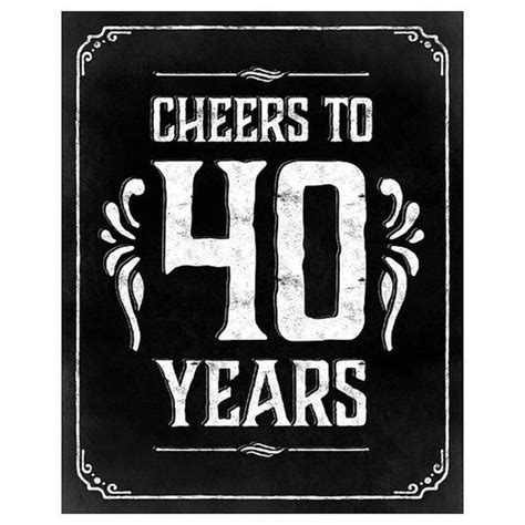 40 year quotes happy 40th birthday quotes and wishes