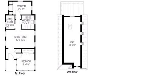 One Bedroom House Plans by 7 Ideal Small House Floor Plans Under 1 000 Square Feet