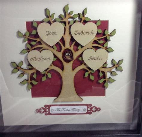 Handmade Family Tree Ideas - 1000 ideas about handmade gifts for him on
