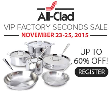 factory seconds sale all clad canada vip factory seconds sale save up to 60