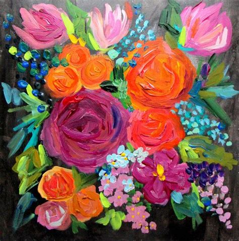 best 25 abstract flowers ideas on abstract oleo painting and acrylic