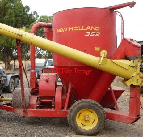 wanted new holland hammermill mixer good condition | machinery