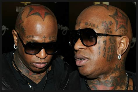 rapper birdman 2015 about face celebs with facial tattoos page six
