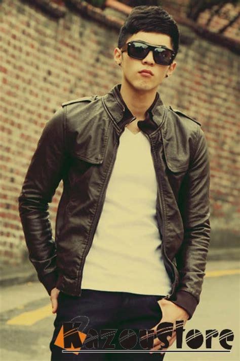 Jaket Kulit Wanita Ggs By Av46 model baju one ok rock detil produk jaket kulit pria jkl02