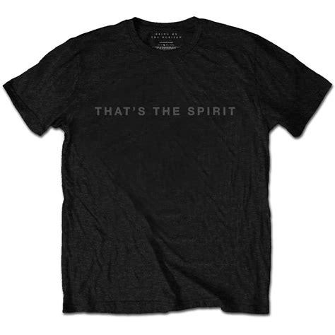 Tshirt Bmth That The Spirit bring me the horizon mens black tshirt that s the spirit