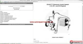 keygen autorepairmanuals ws cummins celect electronic system l10 m11 and n14 engines