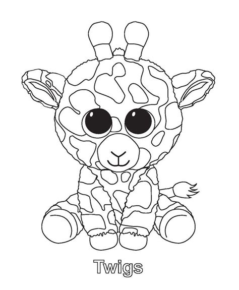 coloring pages of boo the dog 17 best images about beanie boos on pinterest toys ty