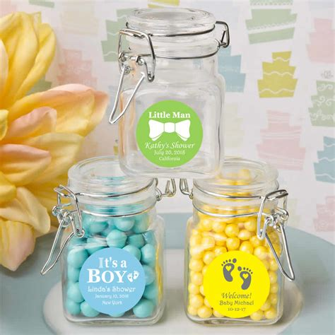 Baby Shower Favors For Guests by Baby Shower Favors For Guests Personalized Apothecary Jars