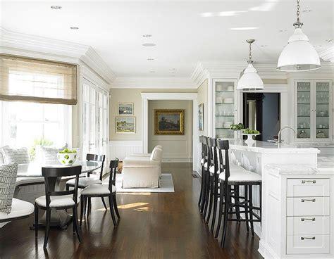 black  white bar stools traditional kitchen diana