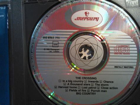 Cd Big 3disc Original Impor cd big country the crossing vintage import west germany sale