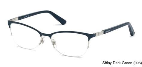 buy swarovski sk5169 semi rimless half frame