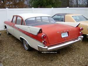 1957 dodge coronet 4 door sedan all runs and drives