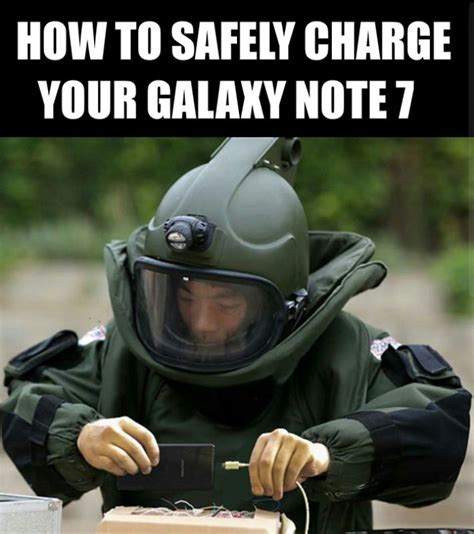 funny reactions to the exploding samsung galaxy note 7