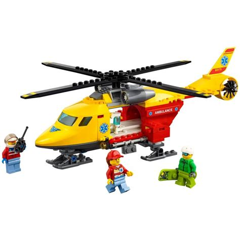Lego City 60179 Ambulance Helicopter lego ambulance helicopter set 60179 brick owl lego