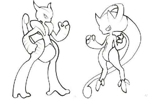 Mega Mewtwo Y Coloring Pages by Items Similar To Coloring Book Pages Mega Mewtwo X