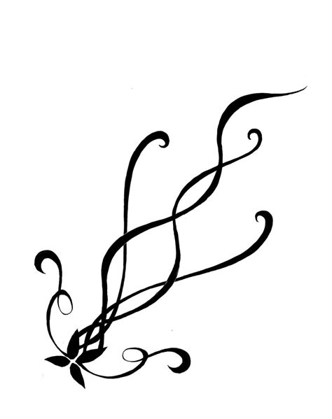 clipart tattoo designs swirl flower designs clipart best