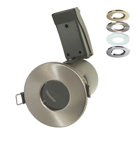 bathroom low voltage downlights 4 x fire rated bathroom downlights 12v mr16 low voltage