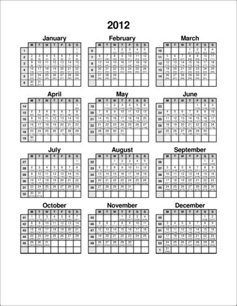 Julian Calendar 2012 Search Results For 2012 Julian Date Calendar Printable