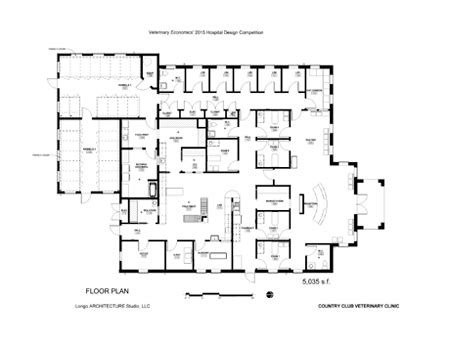 veterinary floor plans 2015 veterinary economics hospital design people s choice