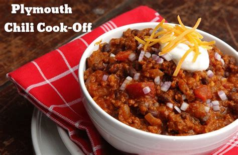 plymouth chili cook plymouth chili cook to raise funds for bicentennial