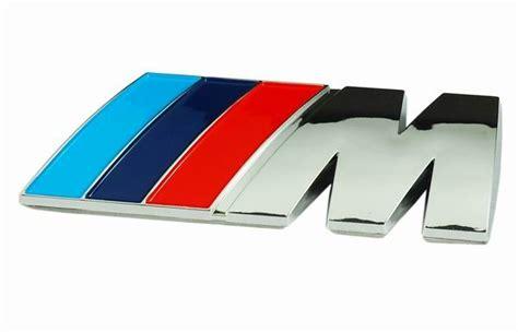 emblem bmw blue white black white carbon m race
