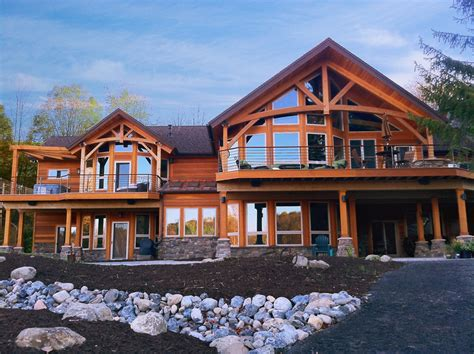 House Plans That Look Like Barns timber frame timber frame home exteriors new energy works