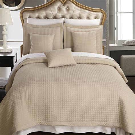 luxury coverlets luxury checkered quilted wrinkle free microfiber multi