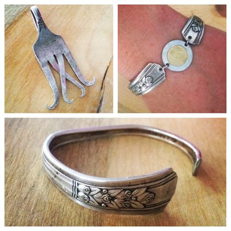 how to make silver spoon jewelry how to make silverware jewelry
