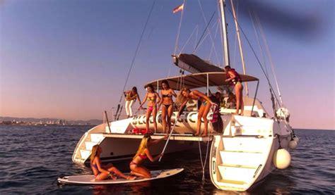 catamaran blue magic cat barcelona blue magic catamaran and sailing boats visit barcelona