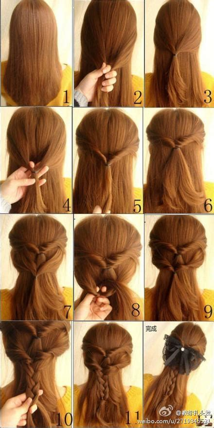 cute hairstyles really easy 21 simple and cute hairstyle tutorials you should
