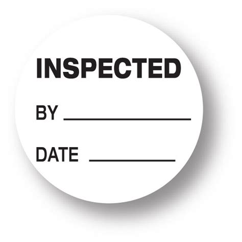 Inspected Ok Sticker Stiker Inspected inspected by stickers kamos sticker