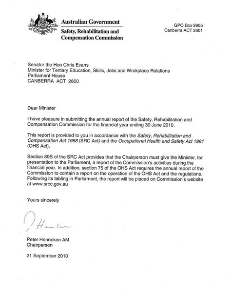 australian business letter template best 20 business letter sle ideas on