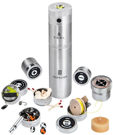 Unique Kitchen Canisters Vssl Survival Kit Flashlight Utility Flashlight And