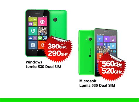 Update Microsoft Lumia 535 Dual Sim microsoft lumia 530 and 535 dual sim easter sales at