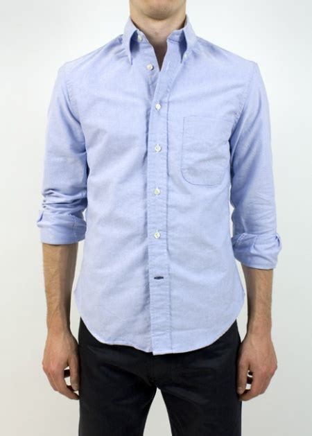 Oxford Shirt 05 what type of clothing is most noticeable on guys