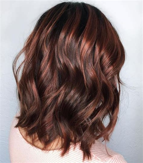 ribbon highlights for brunettes red highlights ideas for blonde brown and black hair