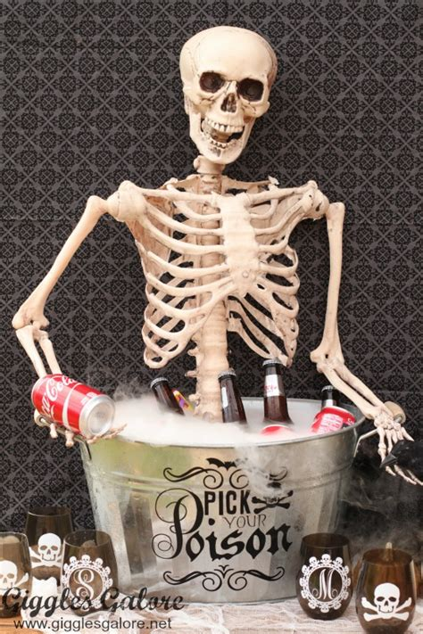 skeleton diy diy skeleton drink giggles galore