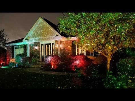 review: star shower outdoor laser christmas lights, star