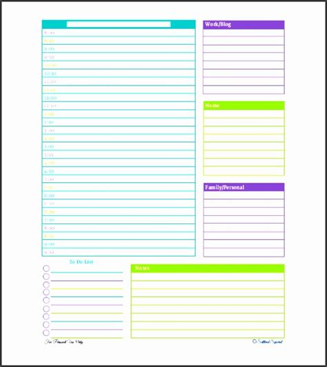 daily schedule template for students 4 daily schedule template for students sletemplatess