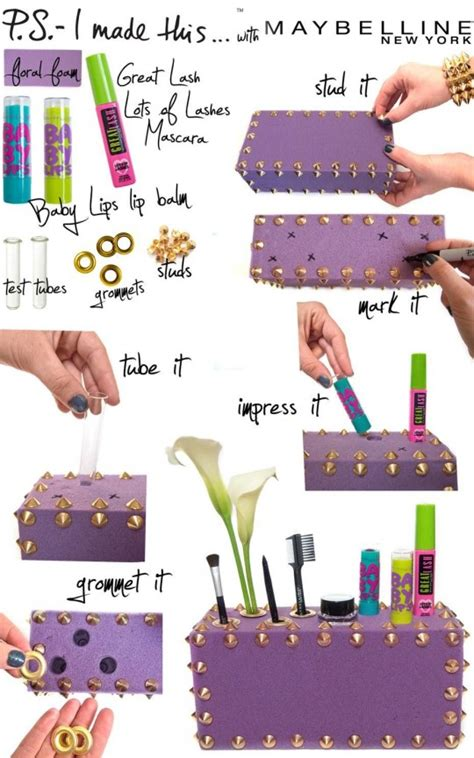 17 great diy makeup organization and storage ideas style