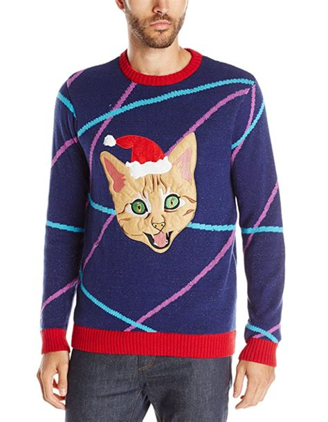cat sweater with lights cat sweater with led lights and lasers cat