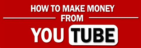 How To Make Money Online With Youtube - how to make money online using youtube infographic